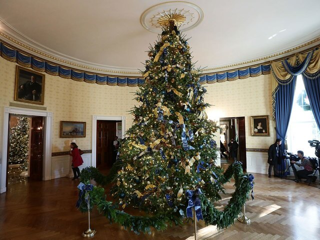 PHOTOS: Christmas at the White House 2017