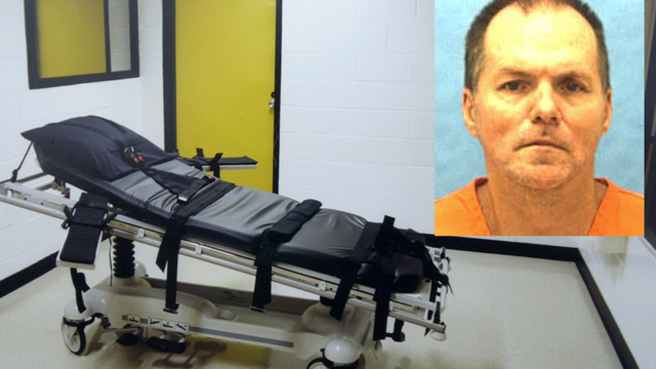 Fla. to hold 1st execution in months on Aug. 24