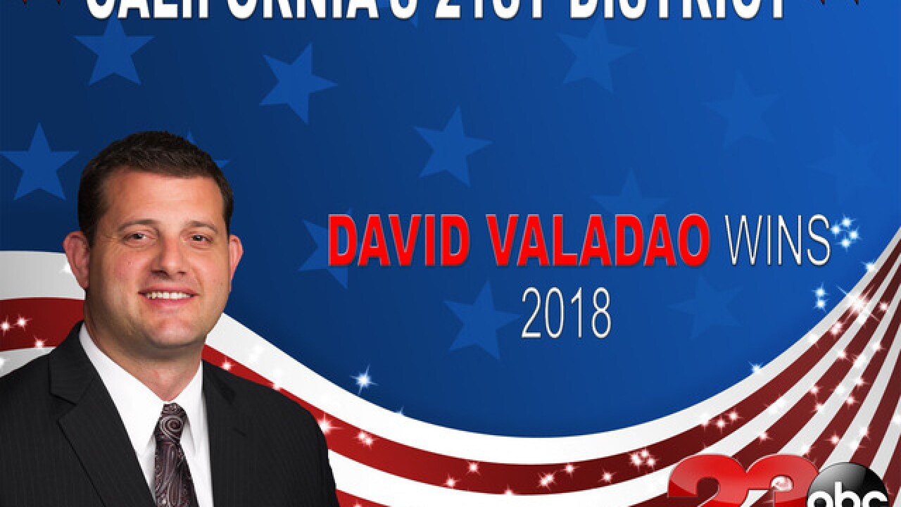 Valadao wins U.S. Representative District 21 race