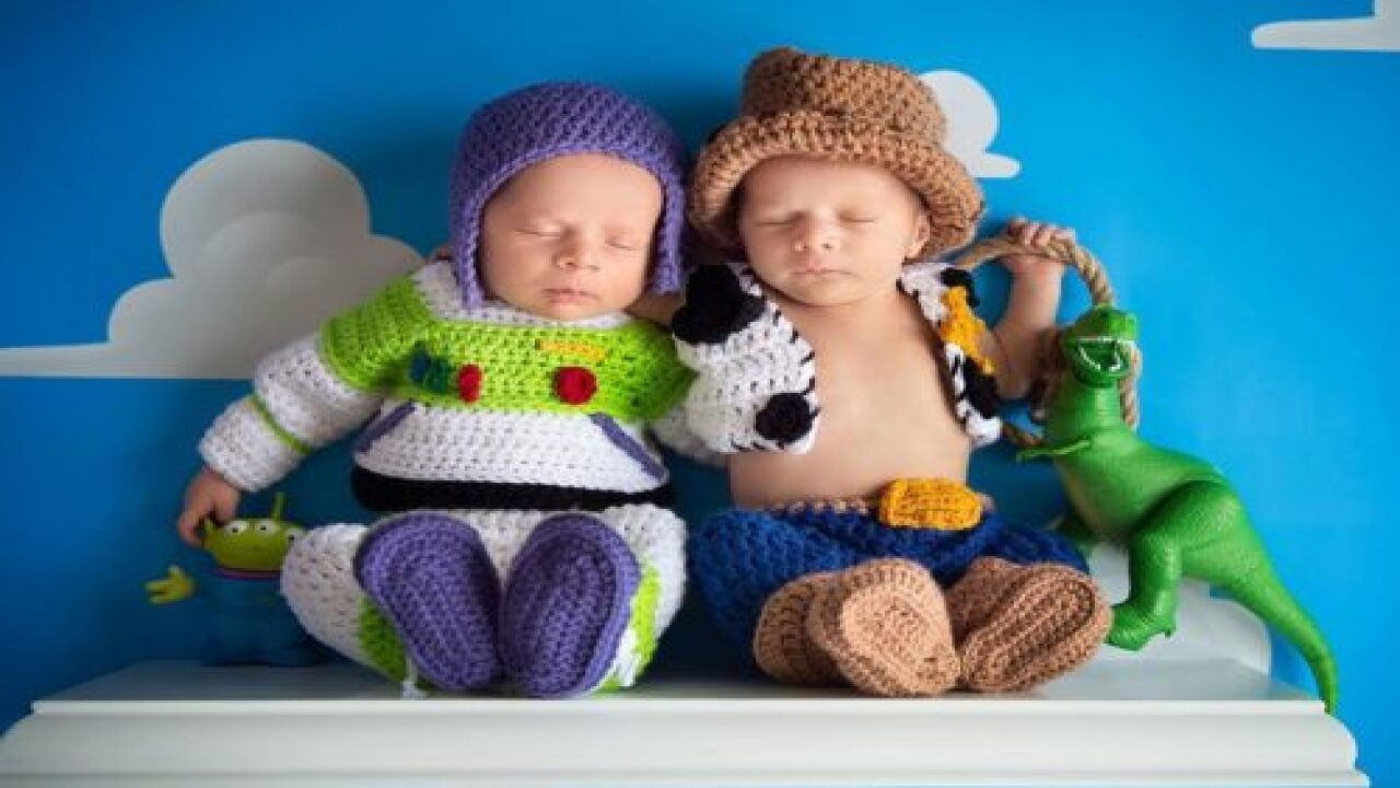 The Photos Of These Newborns Dressed As Woody And Buzz Lightyear Are Amazing