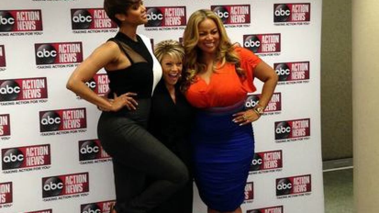 PHOTOS: Tyra Banks visits ABC Action News