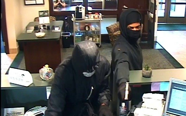 Photos: Chemical Bank robbed in Oshetmo Township