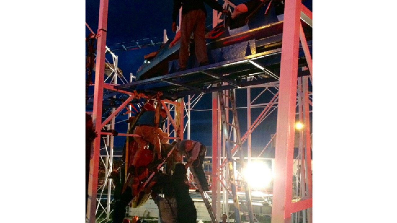 Florida agency probing roller coaster derailment in Daytona Beach