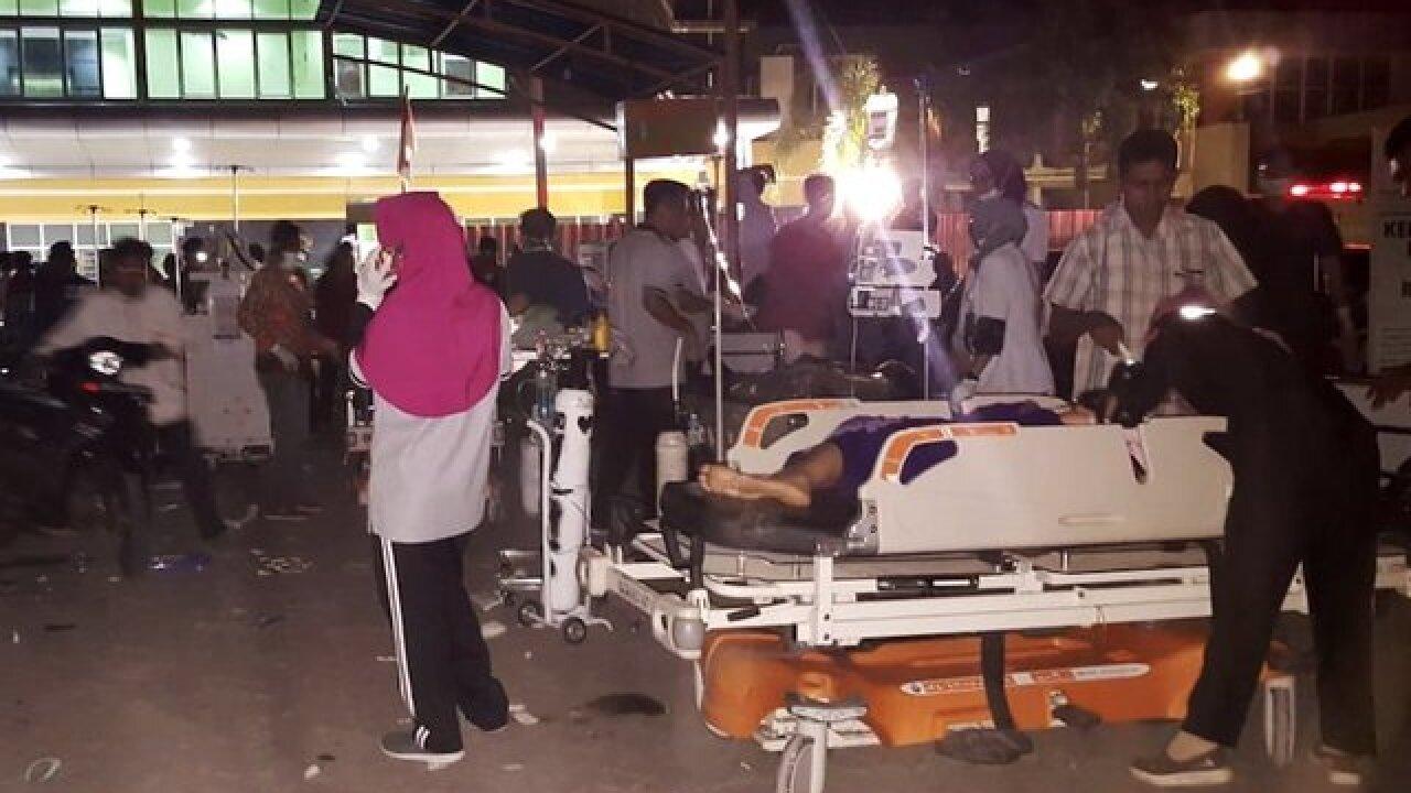 7.0-magnitude earthquake hits Indonesia