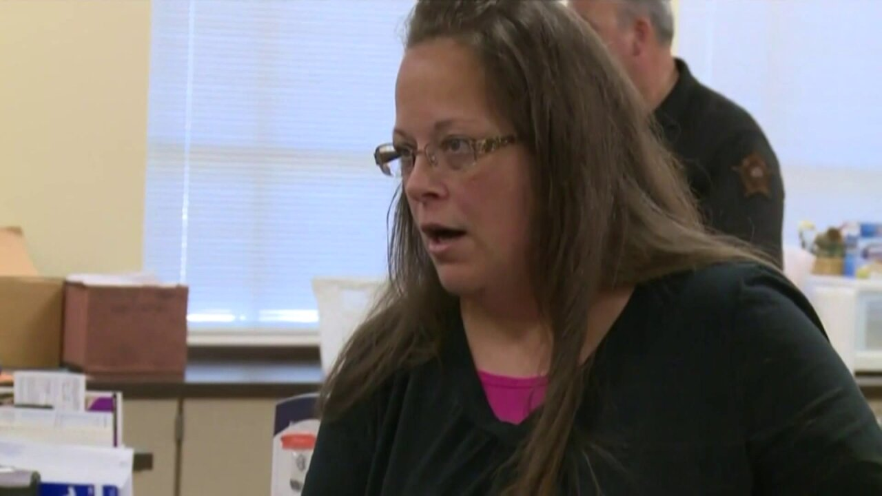 Kentucky clerk who won't issue marriage licenses divorced threetimes