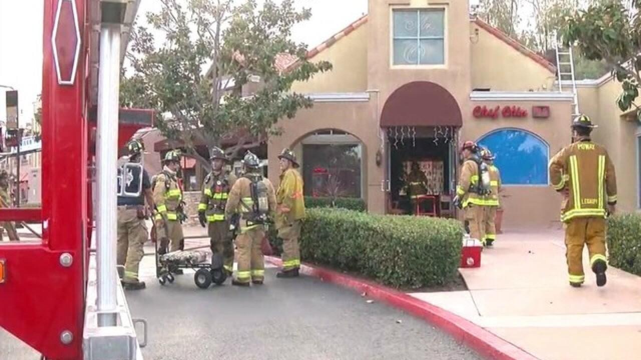 Fire At Rancho Bernardo Chinese Restaurant Prompts Evacuations