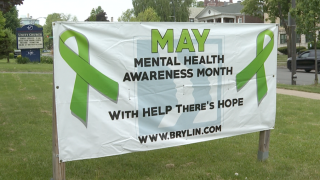 We're talking to the people providing the help for mental health awareness month