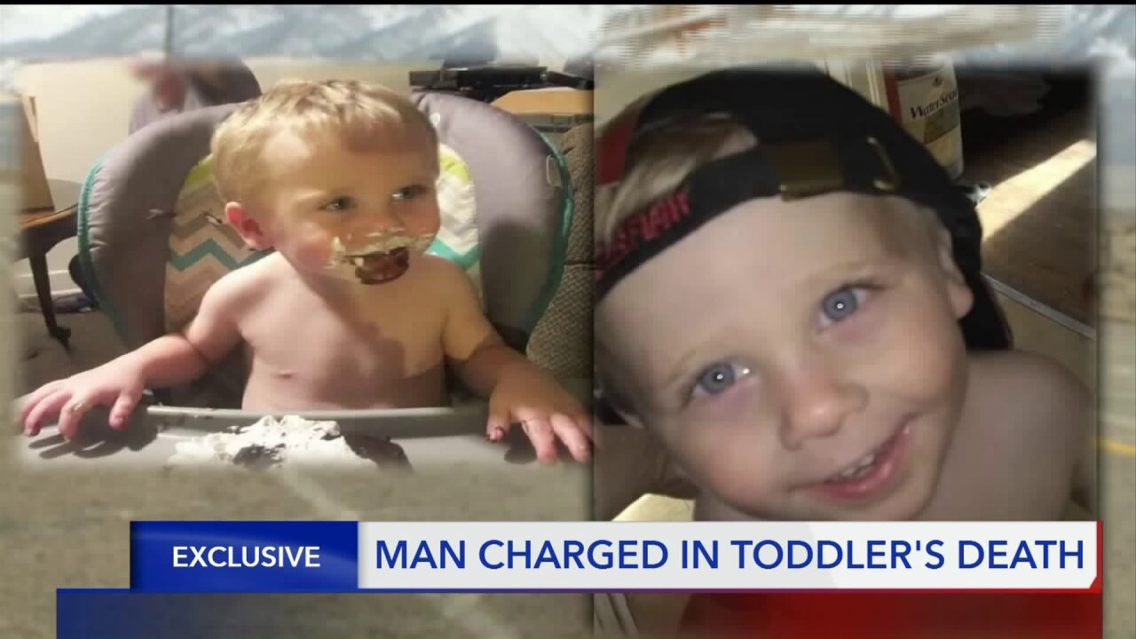 Utah man charged with child abuse homicide after toddler in his care escapes home, walks intotraffic