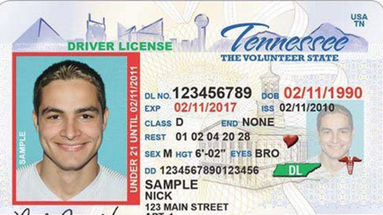 Tennessee real id