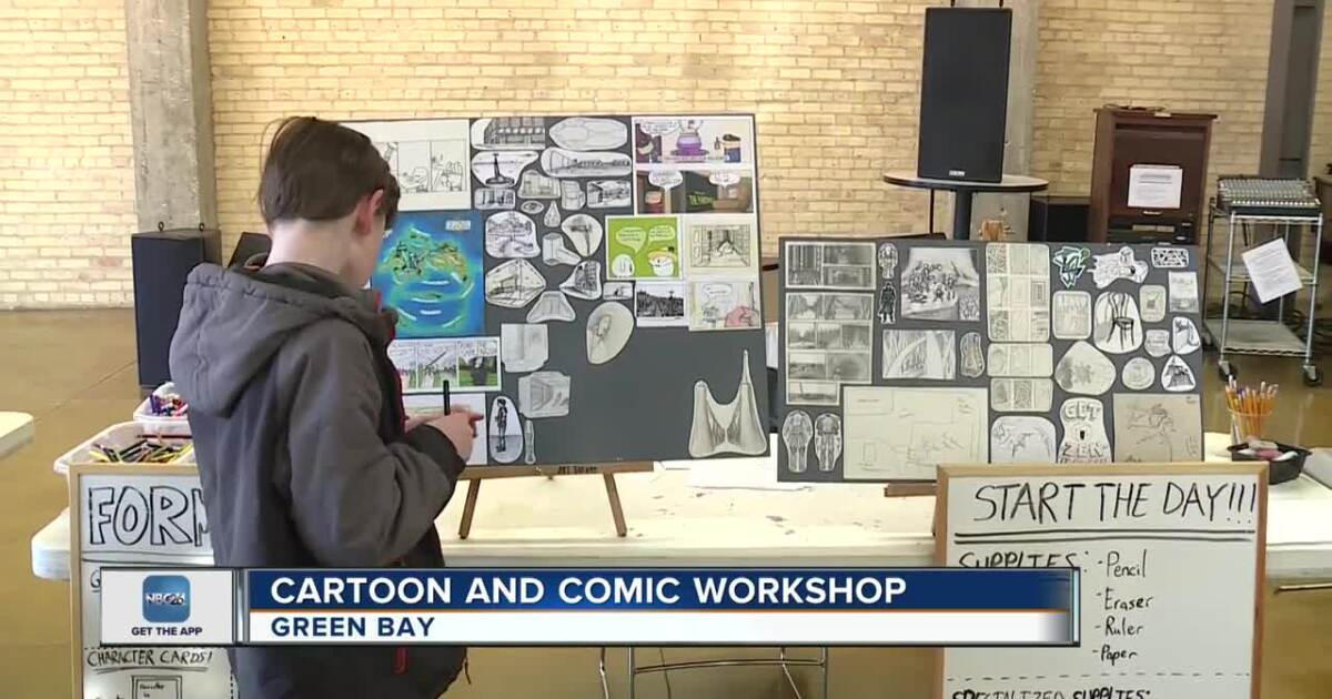 'Cartoon and Comic Workshop' inspires local young artists