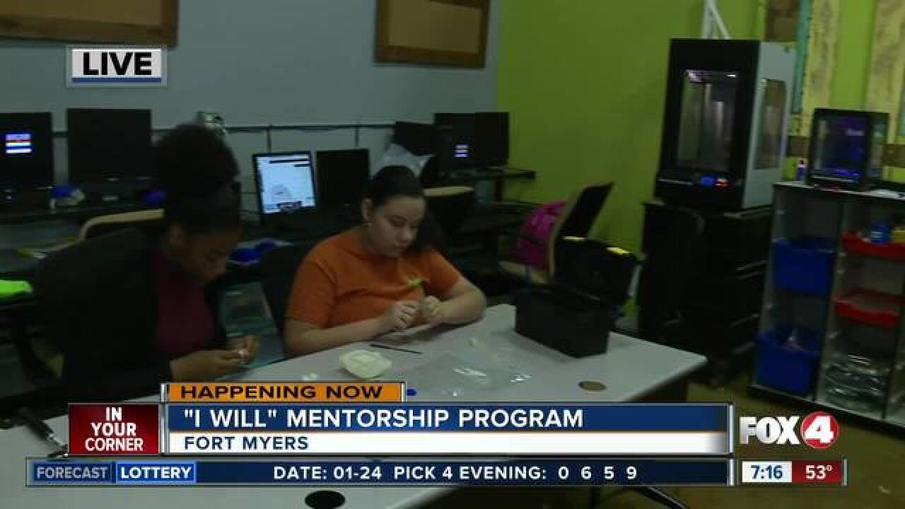 Mentorship program focuses on positive choices