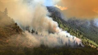 CDOT asking travelers to avoid driving west this weekend due to wildfires