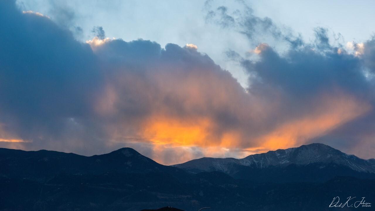 Colorado Springs sunset
