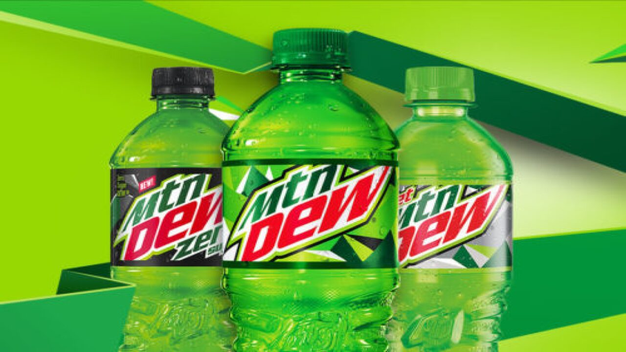 Mountain Dew's Latest Flavor Is Bright Pink And Tastes Like Raspberry Lemonade