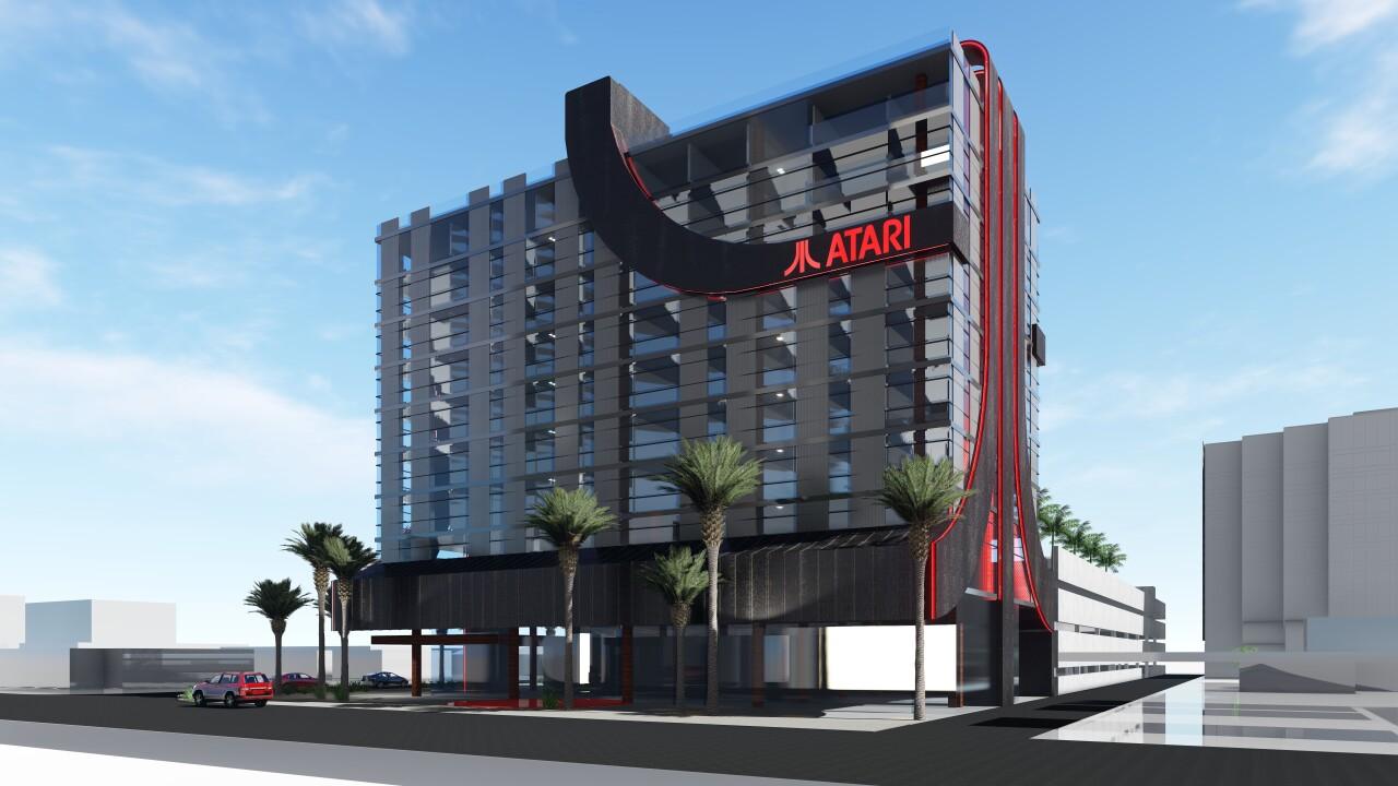 Atari Hotel Phoenix artist rendering 4