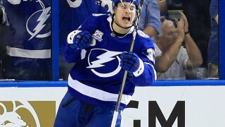 Lightning's Yanni Gourde becomes a dad between playoff games