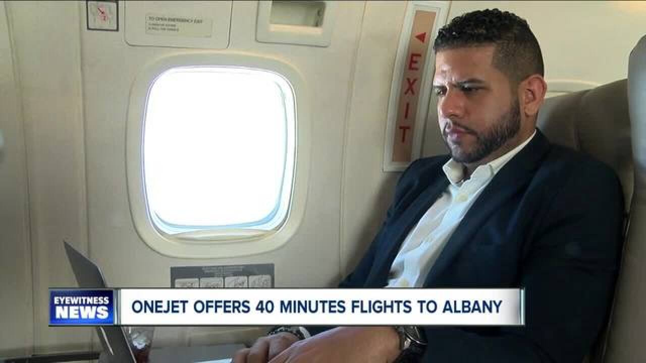 Non-stop flights between Buffalo and Albany