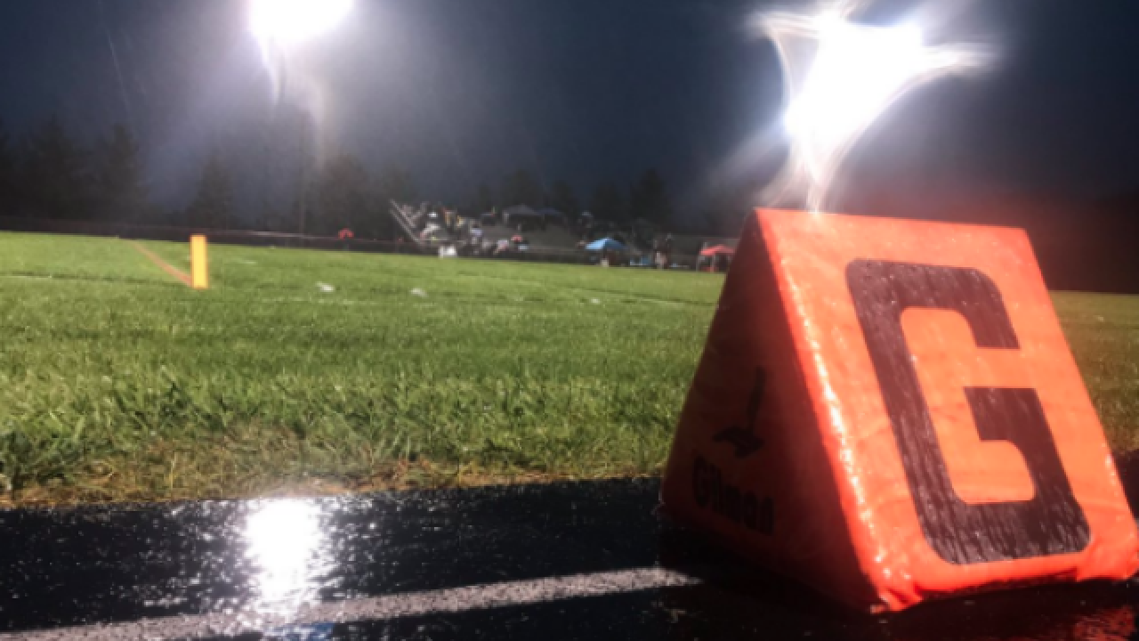 List of Tri-State high school football games delayed due to potential of showers and storms