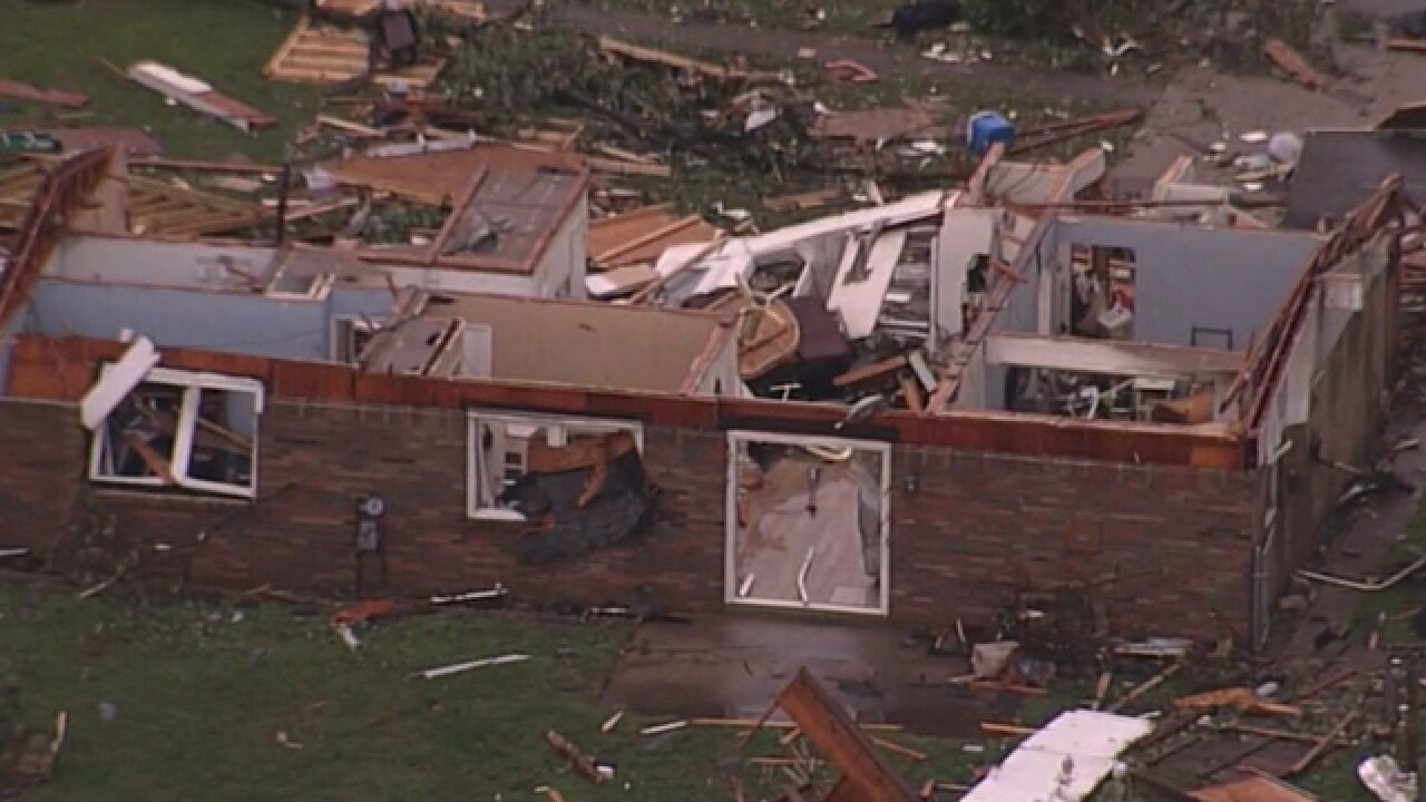 WATCH: A tornado in Indiana leveled this Starbucks