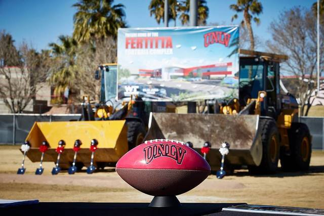 PHOTOS: Fertitta Football Complex groundbreaking