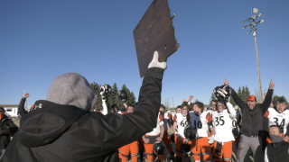 'They did it for Cayl': Manhattan Tigers win Class B State Championship