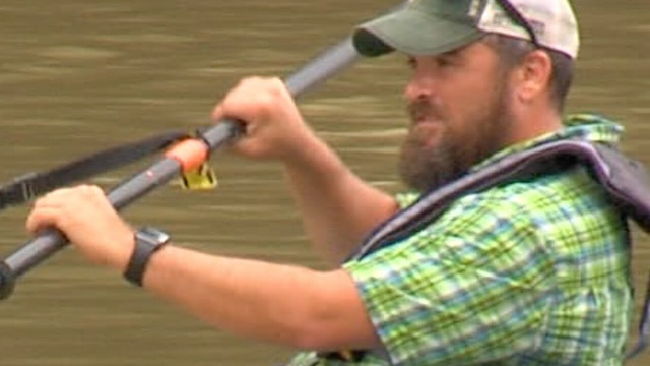 Kayaking helps one man live with mental illness