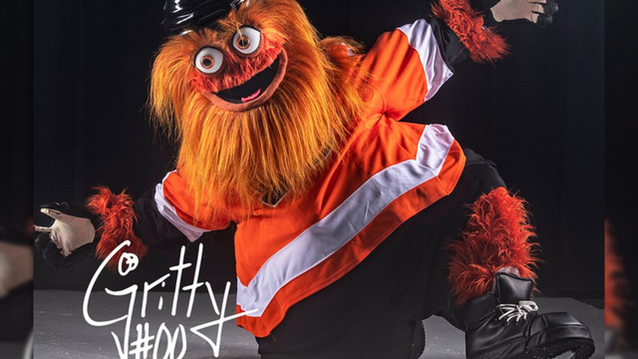 Philadelphia Flyers new mascot 'Gritty' takes social media by storm
