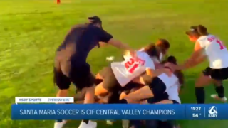 Santa Maria soccer wins CIF Championship over Roosevelt