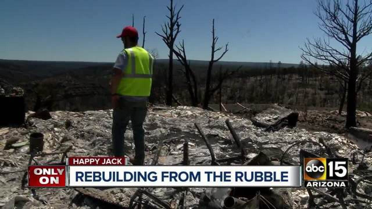 Vets helping community rebuild after Tinder Fire