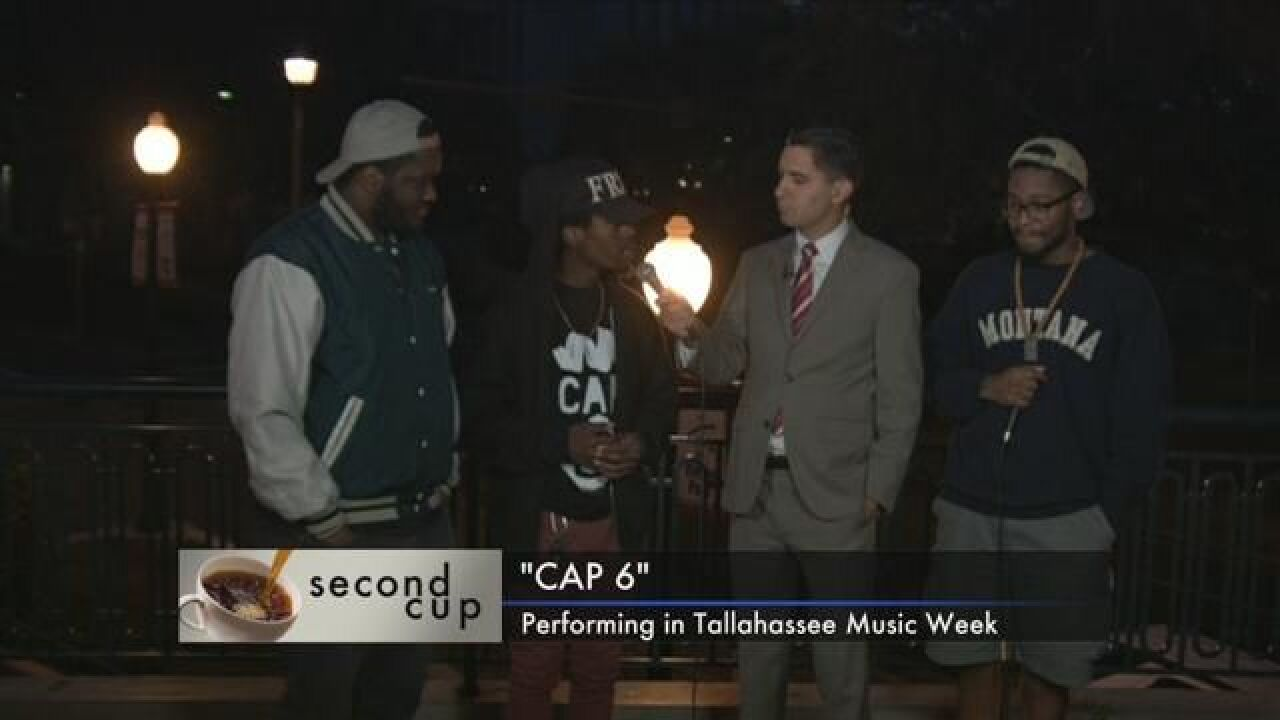 """Second Cup: """"Cap 6""""  Performance During Tallahassee Music Week"""