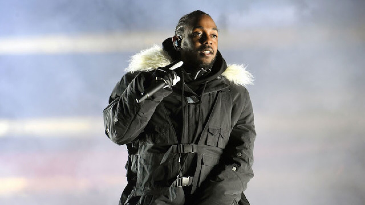 Kendrick Lamar brings his political message to college football championship
