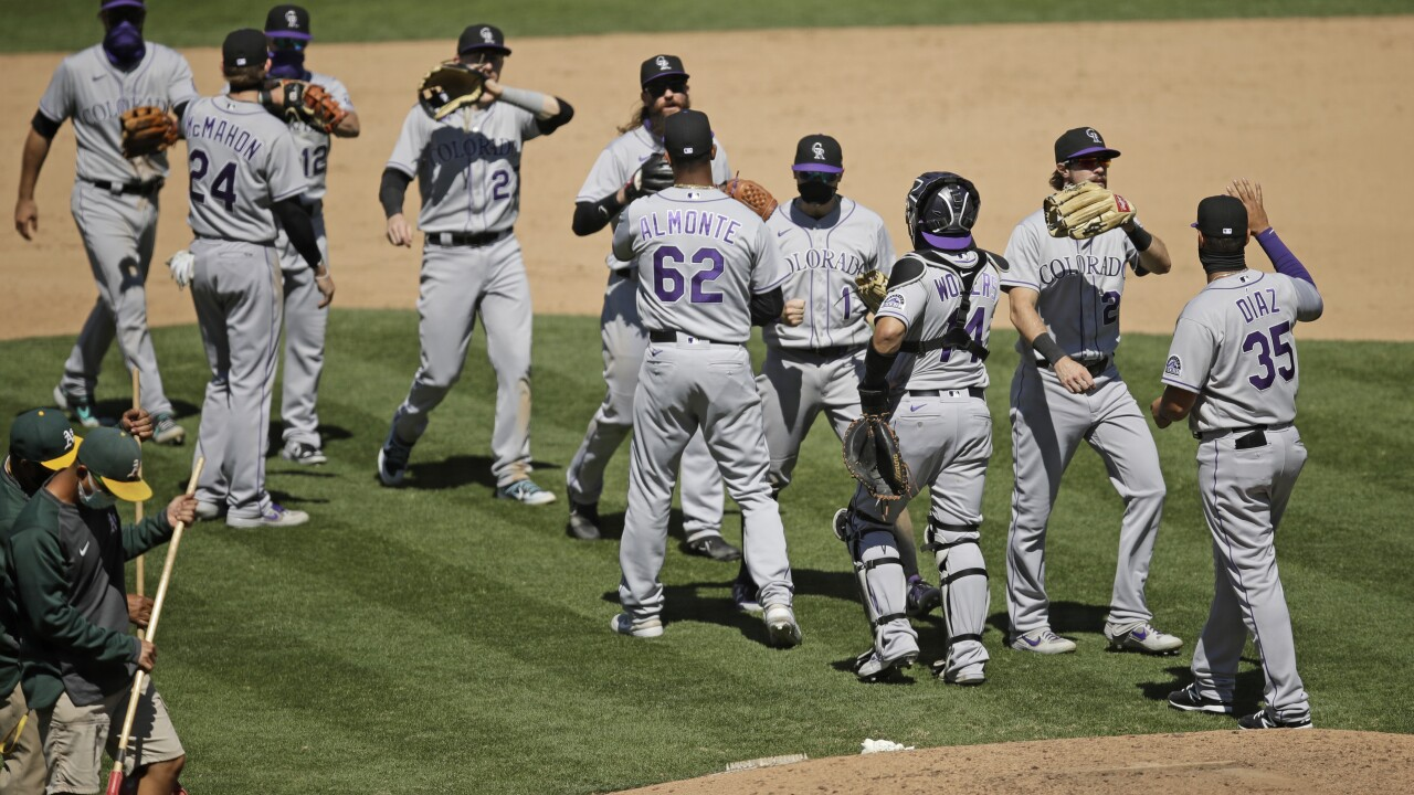 Rockies Athletics Baseball