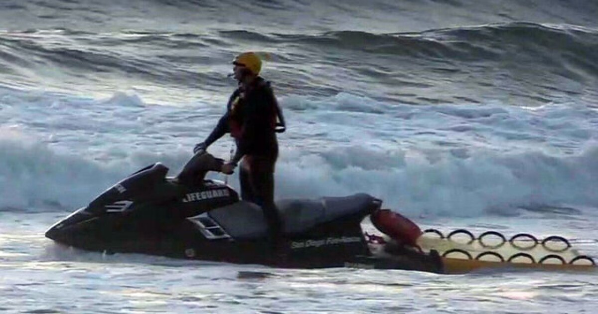 Lifeguards rescue 52 people at San Diego beaches