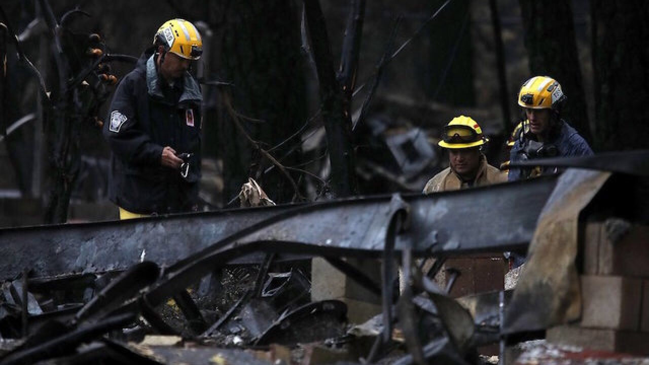 Wildfire in California causes insurance company to go under