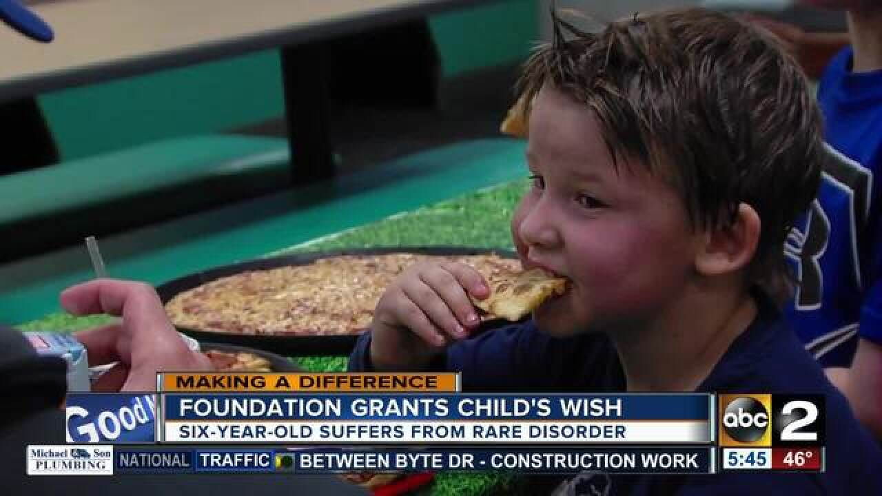 Make-A-Wish sends Callum to Disney World
