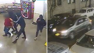 3 men attack, rob man in Queens building lobby: police