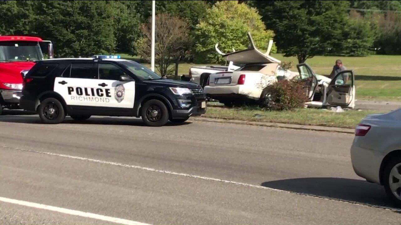 Petersburg man killed in head-on collision on ChippenhamParkway