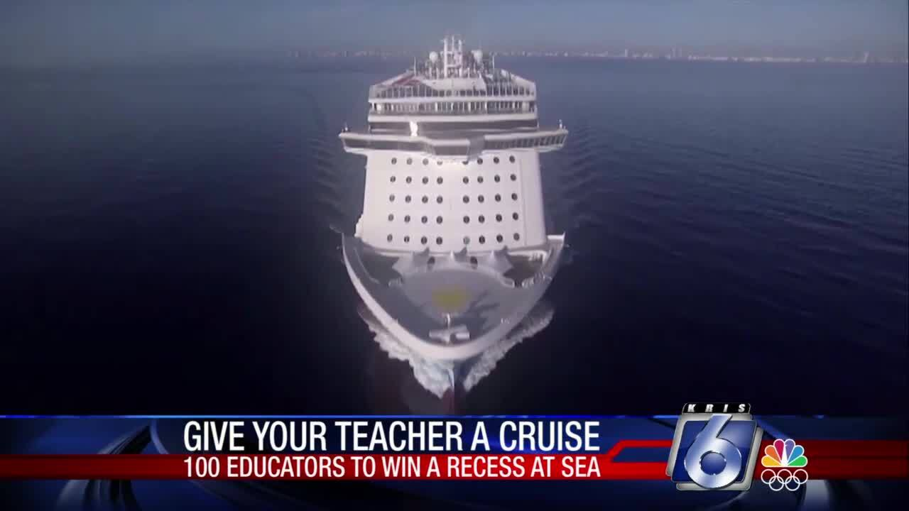 Free cruise for your favorite teacher