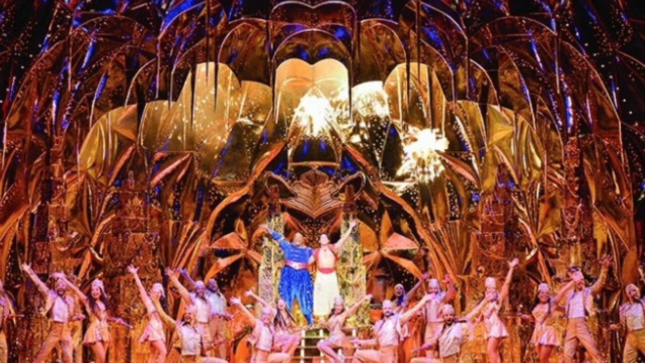 Tickets for Broadway in Detroit's 'Aladdin' to go on sale Sept. 9