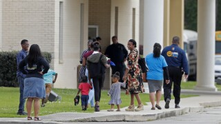 APTOPIX Virus Outbreak Louisiana Church Service