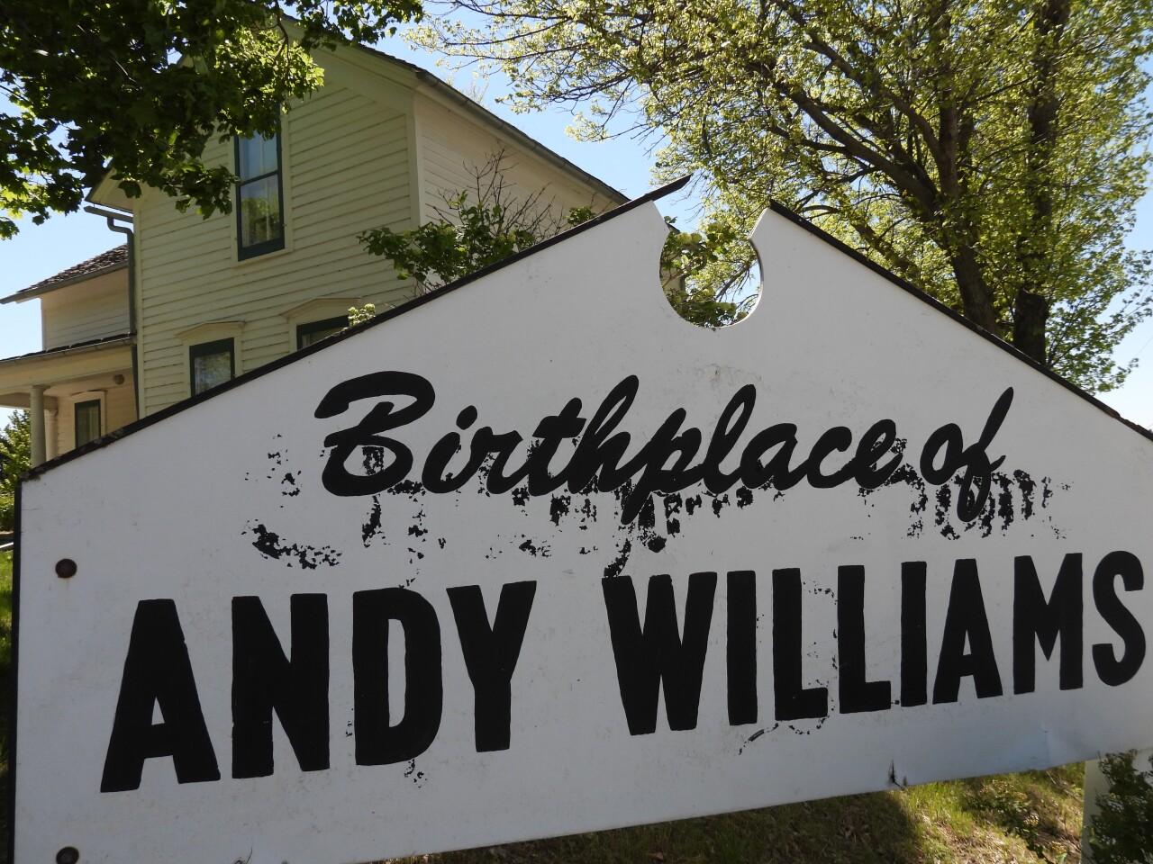 Andy Williams   Wall Lake