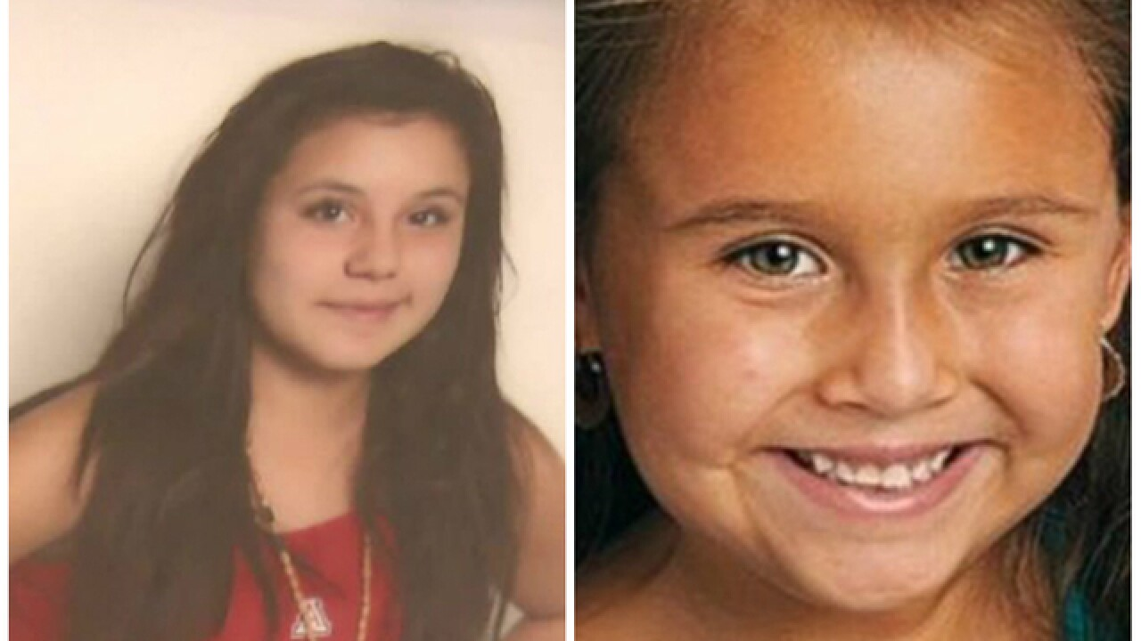 Charges filed in the murder of two young girls