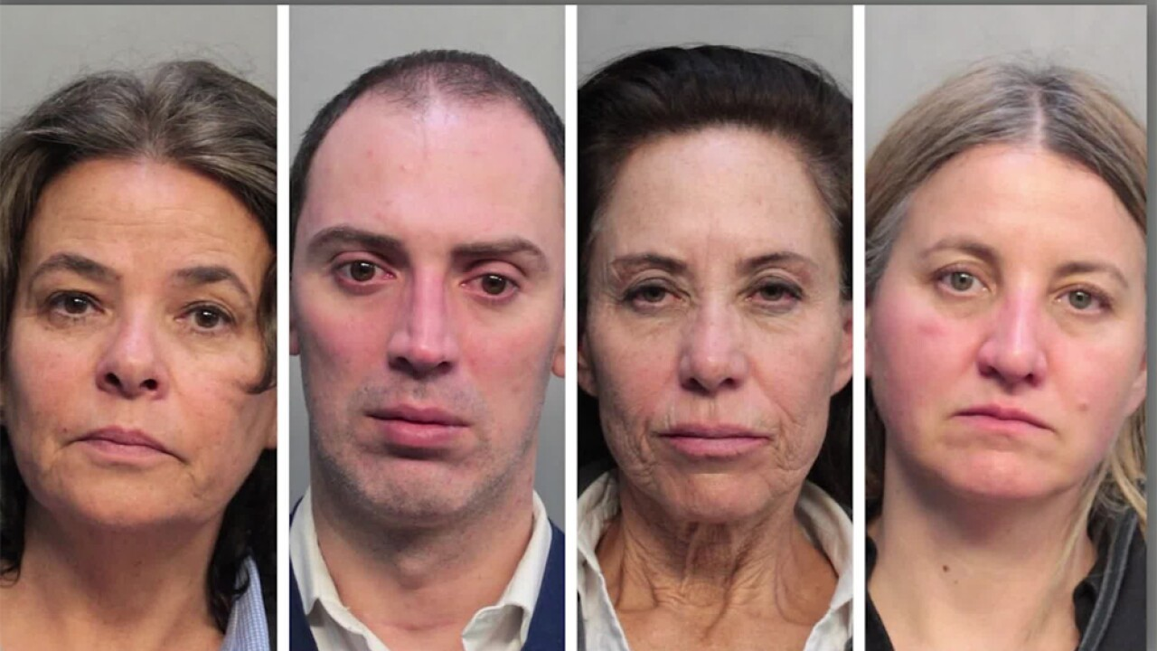 Miaria Delpilar Roman-Strick, 55, Carlos Alberto Munoz-Moyano, 40, Maria Beatriz Pasten-Cuzmar, 55, and Maria Isabel Wilson Ossandon, 48