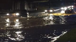 Heavy rain causes flooding across Northeast Ohio