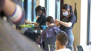 Barber cut COVID-19