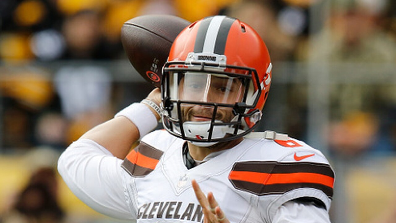 IMAGES: Browns fall to Steelers, 33-18