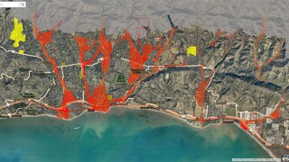 Interactive Debris Flow Risk Map to be unveiled