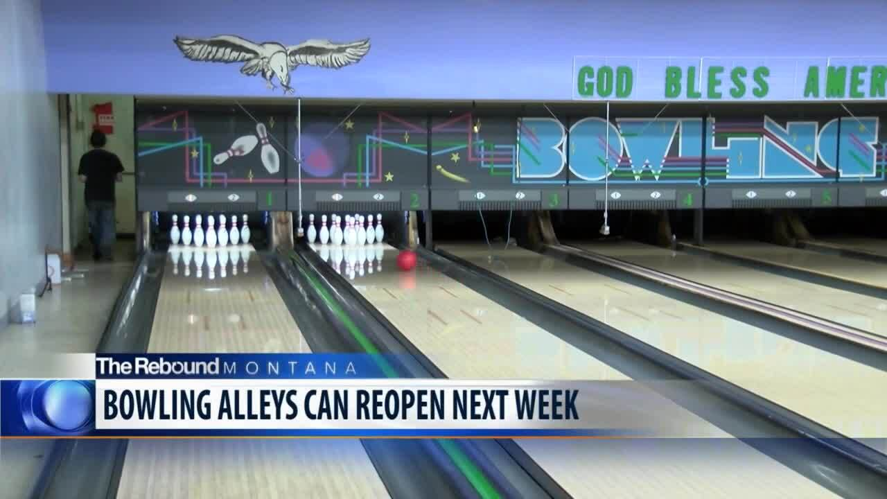 Bowling alleys prepare to re-open