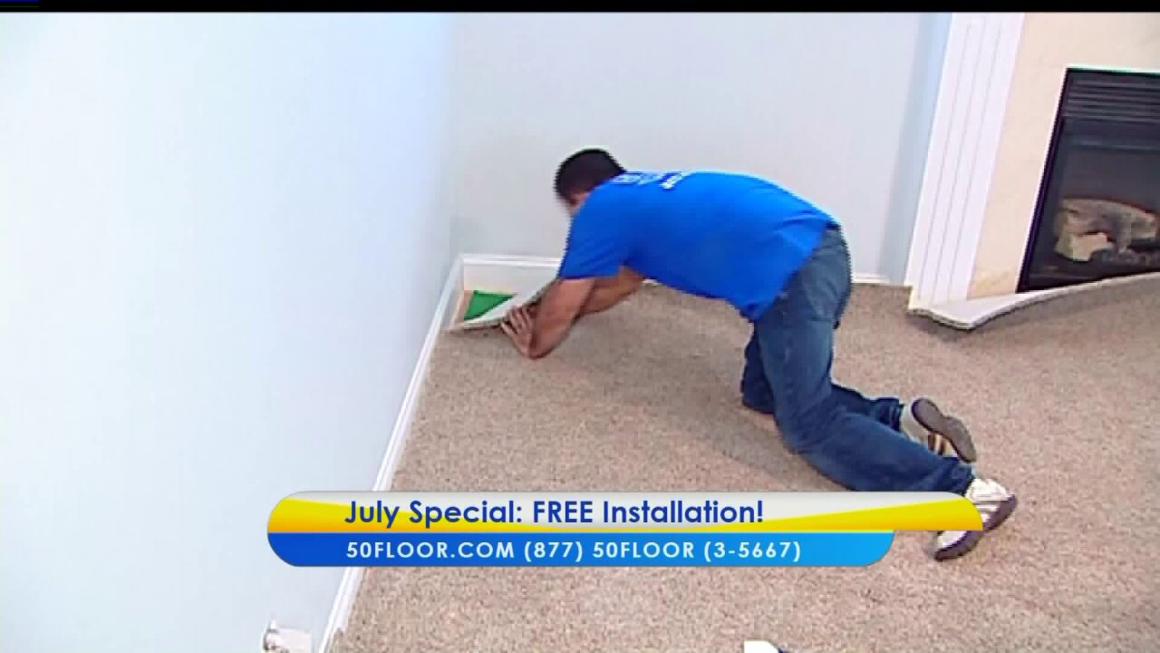 Last Chance for this July FlooringSpecial!