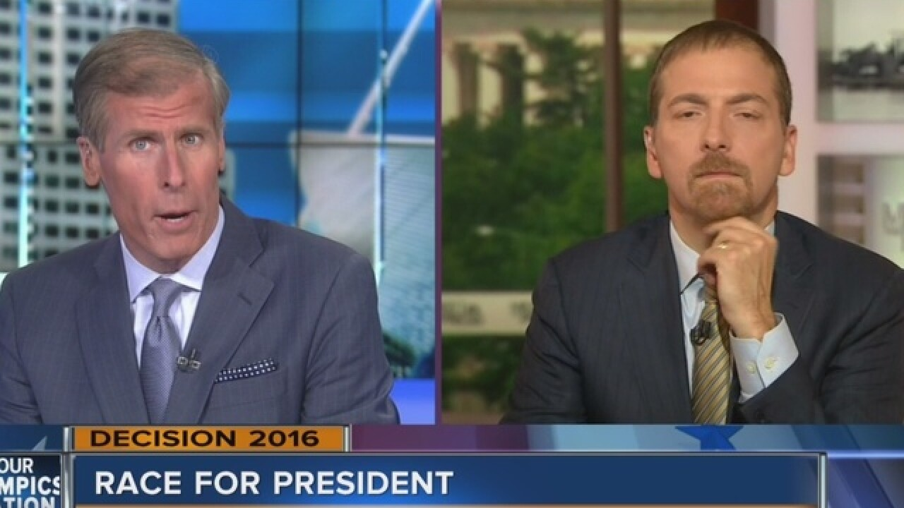 Chuck Todd discusses Obama, Clinton visit to WI